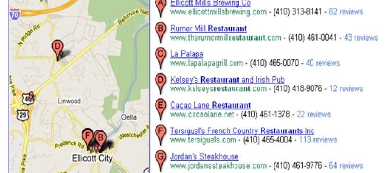 Local Search Strategies: Be a Gold Star on the Google Map