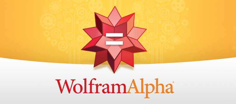 The Google Killer…Wolfram Alpha?