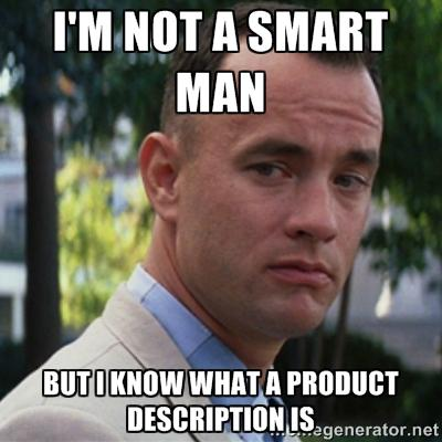 """<img src=""""image.gif"""" alt=""""the Forest Gump Character"""" />"""